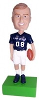 Custom Bobble Head | Casual Football Man Bobblehead | Gift Ideas For Men