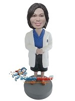 Custom Bobble Head | Doctor Female Bobblehead | Gift Ideas For Women