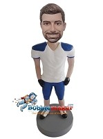Custom Bobble Head | Man In Football Uniform Bobblehead | Gift For Men