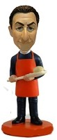 Custom Bobble Head | Baker With Dough Bobblehead | Gift Ideas For Men