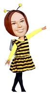 Custom Bobble Head | Female Bee Costume Bobblehead | Gift Ideas For Women