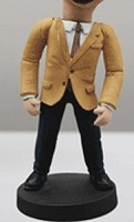 Custom Bobble Head | Blazer Wearing Man Bobblehead | Gift Ideas For Men
