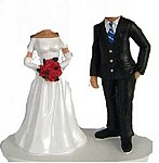 Custom Bobble Head | Normal Wedding Couple Bobblehead | Gift Ideas For Wedding