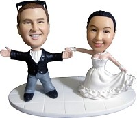 Custom Bobble Head | First Dance Couple Bobblehead | Gift Ideas For Wedding