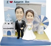 Custom Bobble Head | Wedding Couple Bobblehead | Gift Ideas For Wedding
