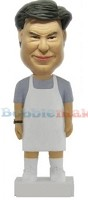 Custom Bobble Head | Chef With Apron Bobblehead | Gift Ideas For Men