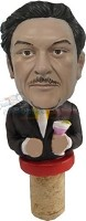 Custom Bobble Head | Custom Male Body In Suit Wine Cork | Gift Ideas