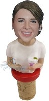 Custom Bobble Head | Custom Female Body Wine Cork | Gift Ideas