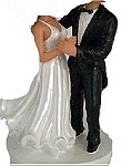 Custom Bobble Head | Dancing Bride And Groom Bobblehead | Gift Ideas For Wedding