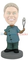 Custom Bobble Head | Cartoon Dentist With Tooth Bobblehead | Gift Ideas For Men
