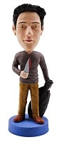 Custom Bobble Head | Dexter Bobblehead | Gift Ideas For Men