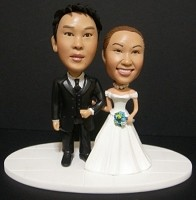 Custom Bobble Head | Bride And Groom Cake Topper Bobblehead | Gift Ideas For Wedding