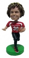 Custom Bobble Head | To End Zone Football Player Bobblehead | Gift Ideas For Men