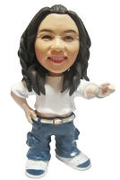 Custom Bobble Head | Breakdancing Female Bobblehead | Gift Ideas For Women