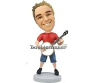 Custom Bobble Head | Banjo Man Bobblehead | Gift Ideas For Men