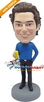 Custom Bobble Head | Male With Can Bobblehead | Gift Ideas For Men