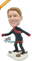 Custom Bobble Head | Skiing Man Bobblehead | Gift Ideas For Men