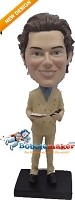 Custom Bobble Head | Man In Suit Bobblehead | Gift Ideas For Men