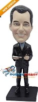 Custom Bobble Head | Man In Suit - Book Bobblehead | Gift Ideas For Men
