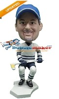 Custom Bobble Head | Hockey Player With Hockey Stick | Gift Ideas For Men