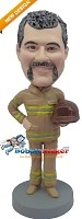 Custom Bobble Head | Fireman Bobblehead | Gift Ideas For Men