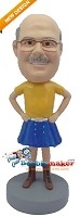 Custom Bobble Head | Kilt Bobblehead | Gift For Men