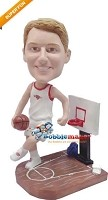 Custom Bobble Head | Super Tall Basketball Player Bobblehead | Gift Ideas For Men