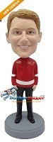 Custom Bobble Head | Sports Jersey Man Bobblehead | Gift Ideas For Men