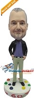 Custom Bobble Head | Any Age Birthday Cake Bobblehead | Gift Ideas For Men