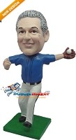 Custom Bobble Head | Baseball Player Catching | Gift Ideas For Men