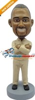 Custom Bobble Head | Crossed Arms Man Bobblehead | Gift Ideas For Men