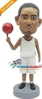 Custom Bobble Head | Man Spinning Basketball Bobblehead | Gift Ideas For Men