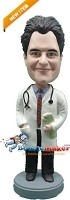 Custom Bobble Head | Male Doctor With Hand In Coat Pocket Bobblehead | Gift Ideas For Men