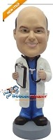 Custom Bobble Head | Doctor With Stethoscope Bobblehead | Gift Ideas For Men