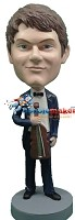 Custom Bobble Head | Violin Player Male Bobblehead | Gift Ideas For Men