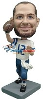 Custom Bobble Head | Quarterback Male Bobblehead | Gift Ideas For Men