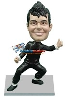 Custom Bobble Head | Karate Pose Male Bobblehead | Gift For Men