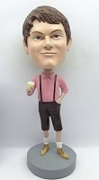 Custom Bobble Head | German Lederhosen Beer Drinker Bobblehead | Gift Ideas For Men
