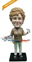 Custom Bobble Head | Poker Playing Female Bobblehead | Gift Ideas For Women