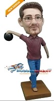Custom Bobble Head | Bowling Man Bobblehead | Gift Ideas For Men
