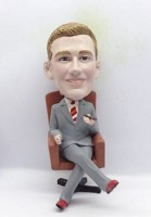Custom Bobble Head | Executive With Cigar Bobblehead | Gift Ideas For Men
