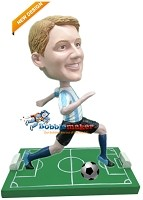 Custom Bobble Head | Running Soccer Player Bobblehead | Gift Ideas For Men