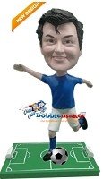 Custom Bobble Head | Man Kicking Soccer Ball Bobblehead | Gift Ideas For Men