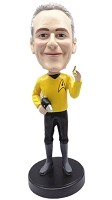 Custom Bobble Head | Star Trek Male Bobblehead | Gift For Men
