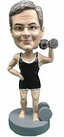 Custom Bobble Head | Man Lifting Weights Bobblehead 3 | Gift Ideas For Men
