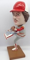 Custom Bobble Head | Baseball Pitcher Throwing Man Bobblehead | Gift Ideas For Men