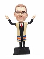 Custom Bobble Head | Bar Mitzvah / Rabbi Man Bobblehead 2 | Gift For Men