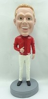 Custom Bobble Head | Thumbs Up Baseball Bobblehead | Gift For Men