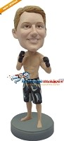 Custom Bobble Head | Male MMA Fighter Bobblehead | Gift Ideas For Men