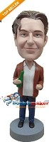 Custom Bobble Head | Man With Beer Bottle Bobblehead | Gift Ideas For Men